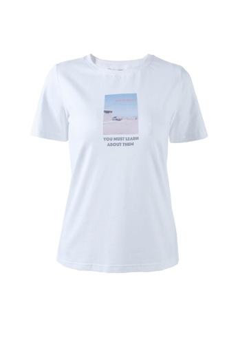 HAPPY FRIDAYS Trend Landscape Print Short Sleeve T-shirt 57210 97168AA744D083GS_1