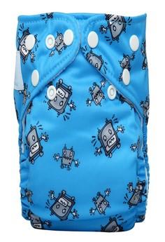 Robot Boy 2-in1 Cloth Baby Diaper