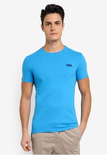 Superdry 藍色 ORANGE LABEL VINTAGE EMB TEE 00E32AACE5175DGS_1