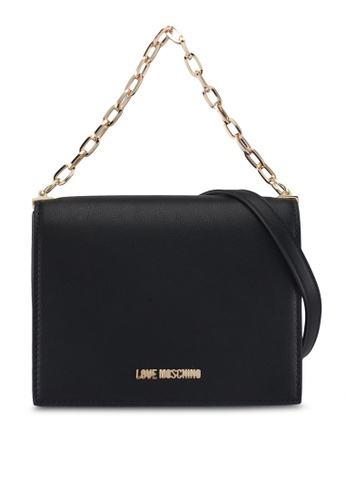 Love Moschino black LOVE MOSCHINO Sling Bag LO478AC0SXYKMY_1
