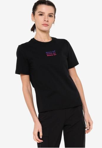 361° black Sports Life Short Sleeve T-Shirt 87339AAFEAB64CGS_1