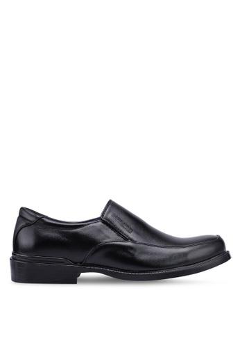 Rocklander black Slip On Formal Shoes CA1CBSH2DD2DB3GS_1
