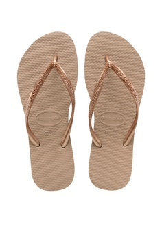 6e3186b7d9312 Havaianas Havaianas Slim Rose Gold S  30.00. Sizes 33 34 35 36 37 38 39 40  41 42