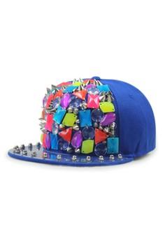 Punk Fluorescence Hiphop Bboy Cap