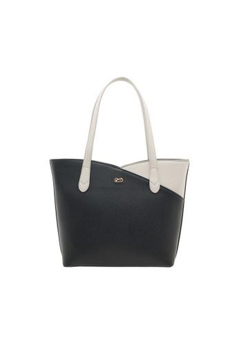 Valentino Creations black Valentino Creations Slice Cut Shoulder Bag 811DBACCD05FBDGS_1