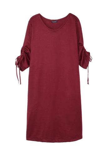 Cheetah C Union Casual Short Sleeves Dress - CUL-19252-C1 4618CAABF8F015GS_1