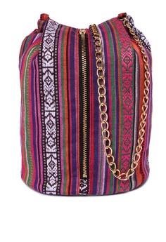 Georgine Tribal bucket bag