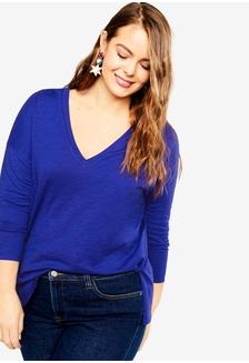 3d8efe42d6d99 Plus Size Organic Cotton T-Shirt 824B4AA5C3C5E5GS 1