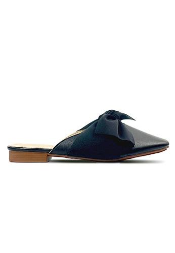 SHINE black and red SHINE SLIP ON BALLET FLATS SH554SH05PKCSG_1