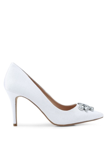 Dorothy Perkins white Ivory Gamble Court Shoes F6424SHAABD2BAGS_1