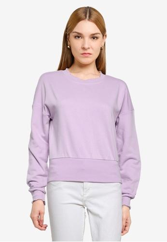 ONLY purple Haisley Life Shorts 71506AAD4AB86FGS_1