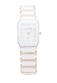 Ceramic Stainless Analog Watch 5008G