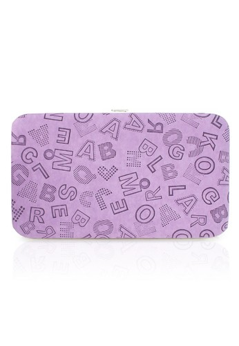 VERNYX - Woman's Flamingo Letter Wallet DO465 Purple - Dompet Wanita