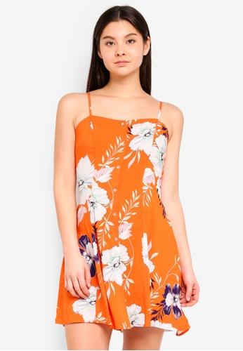 Cotton On orange Woven Krissy Dress 10A58AA675FAB4GS_1