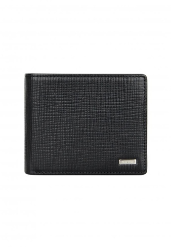Shilton black Shilton Cardiff Wallet with Card Window SH781AC04EHBSG_1