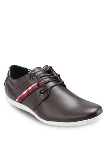 三眼繫帶正式休閒皮鞋, 鞋, 休閒esprit 品牌鞋