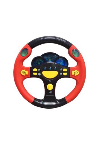 figoltoys Mainan Anak Setir Setiran Mobil Lampu Musik Racing Wheel 3B8EFTHAD7A99FGS_1
