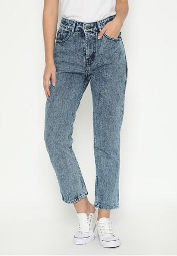 Nuber blue Fireweed Boyfriend Jeans Snow Blue Black D96C5AA10904CEGS_1