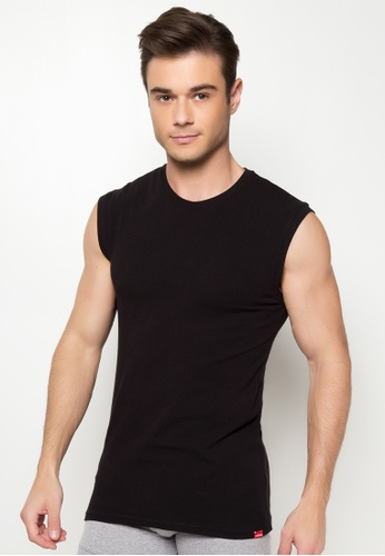 Shop BENCH Fitted Muscle Shirt Online on ZALORA Philippines 7f947e92d