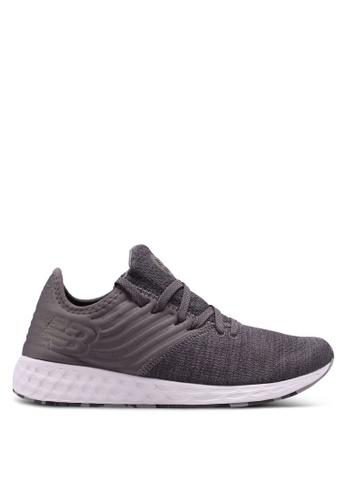 New Balance grey CRUZ Deconstructed Future Sport Shoes 5C6E8SH132586DGS_1