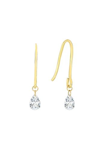 Khoe yellow Khoe 18K Yellow Gold Diamond Earring EA0D4ACD0DEBA2GS_1