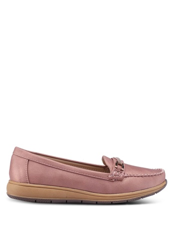 Noveni pink Slip-On Loafers 83858SH0C56965GS_1