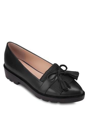 流蘇低跟樂福鞋, 女鞋zalora開箱, 船型鞋
