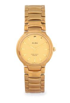 Image of Alba Round Watch Arsm04 Gold