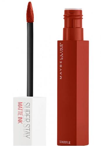Maybelline red Maybelline Superstay Matte Ink Lipstick GROUNDBREAKER 117 93B3CBE5FC68F6GS_1