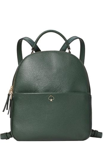 Kate Spade green Kate Spade Polly Medium Backpack Bag in Deep Evergreen 8A733ACB31BB32GS_1