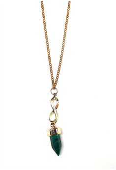 Infinity Jade Necklace
