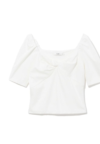 b+ab white Front bow top 5BCB0AA3C0937EGS_1