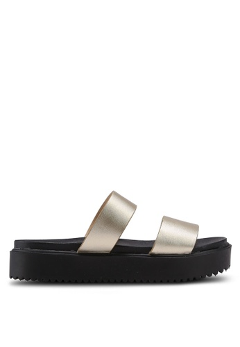 Bata Metallic Sliders 08150SH8472E90GS_1