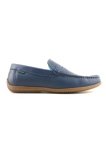 Hanson Bootmaker blue Hanson Bootmaker Mocassins- Navy 4EFECSH0C4EBBBGS_1