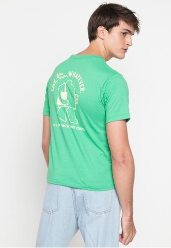 Artwork green Like Whatever T-Shirt 71774AAA774CBBGS_1