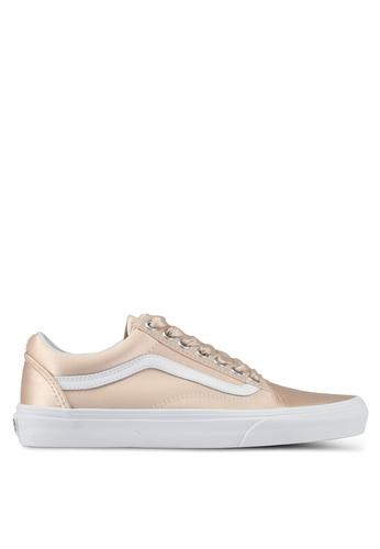 VANS pink Old Skool Satin Lux Sneakers VA142SH0SWODMY_1