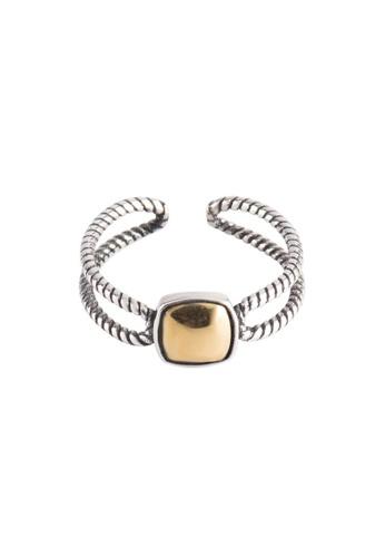 A-Excellence silver Premium S925 Sliver Geometric Ring 0A4BDAC188E26BGS_1