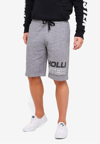 Hollister multi and grey Print Logo Longboard Shorts F58F9AA6E4C4E9GS_1
