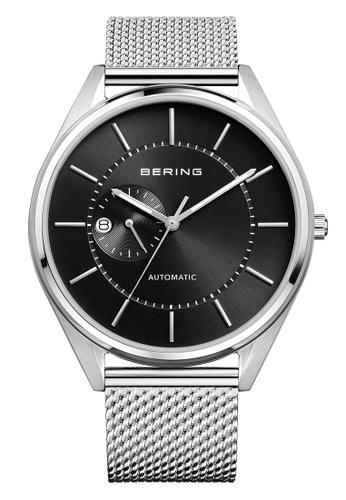 Bering silver Automatic 16243-077 Black 43 mm Men's Watch E556BAC4B43F16GS_1