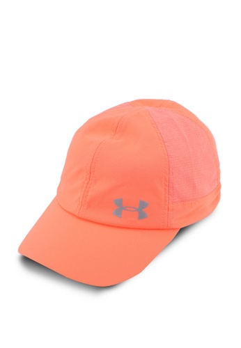 Under Armour pink and orange UA Fly By Cap 978DDACE1CDDC3GS_1