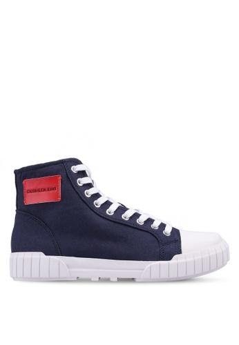 Calvin Klein navy Biagio Sneakers AAA29SH86C81DEGS_1