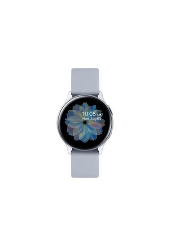 Samsung silver Samsung Galaxy Watch Active2 (40mm) Aluminium Bluetooth - Cloud Silver. E91AAHL17D8881GS_1