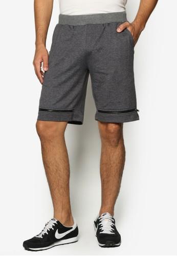 拉鍊飾esprit專櫃百慕達休閒短褲, 服飾, 短褲
