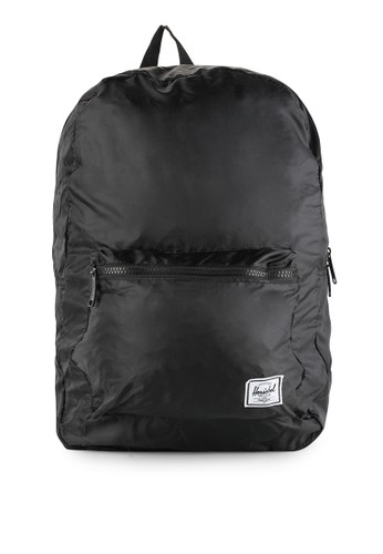 Herschel black Packable Daypack HE449AC0UPZ5ID_1