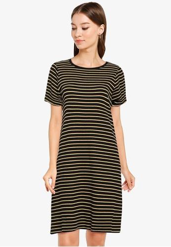 LOWRYS FARM black Rib Dress 4FD46AA0A5F45DGS_1