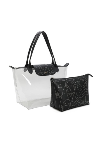 Milliot & Co. black Lily Tote Bag EF5BEACA9E3A9BGS_1
