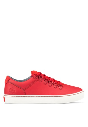 Timberland red Adventure 2.0 Cupsole Rubberized Alpine Oxford Sneakers TI063SH0RWVJMY_1