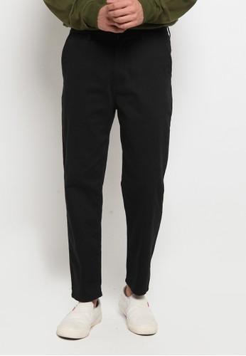TIRAJEANS black CHINO PANTS 381EFAA8DF1AC8GS_1