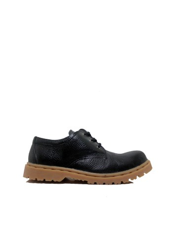 Cut Engineer black Cut Engineer Safety Classic Low Boots Genuine Leather Black 366E6SHF8D47B2GS_1