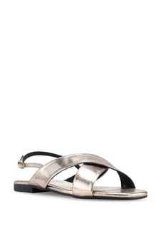 18e1818c578b Nelissa Hilman for ZALORA Aria Slingback Sandals RM 139.00. Available in  several sizes